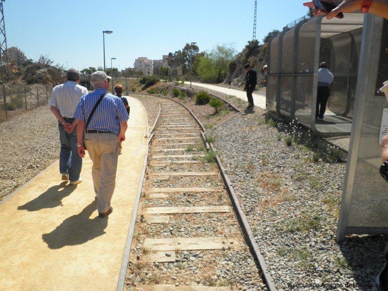 Rampa de acceso a los túneles de El Hornillo