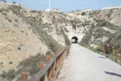 Túnel P.K. 8,870 (lado Murcia). Marzo 2013