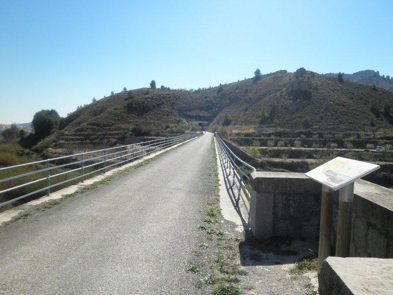 puente sobre el río Argos - lado Caravaca