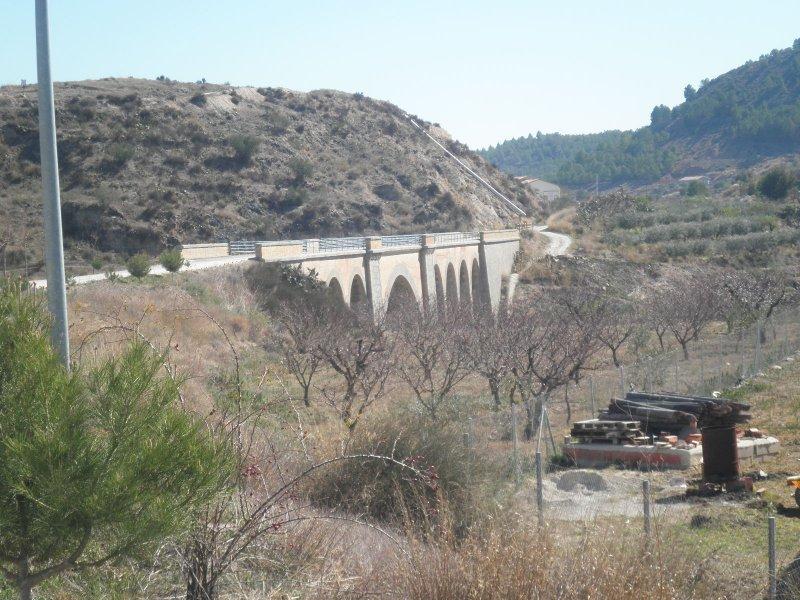 puente sobre el río Quípar  P.K. 70,306
