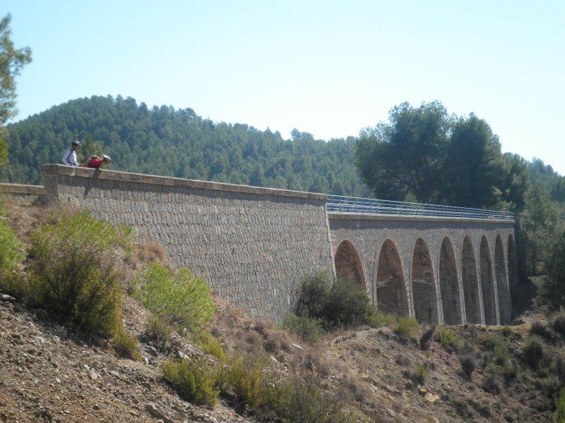viaducto sobre la rambla de burete-lado caravaca