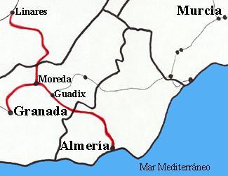MapaFcLinaresAlmeria