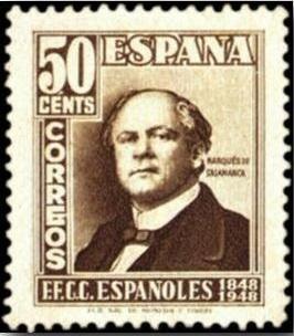 SelloCorreosMarquesSalamanca1948