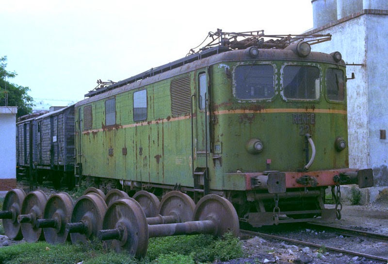 LocomotoraElectricaTrifasicaRenfe22FotoWernerHardmeier1976
