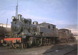 LocomotoraVapor141BazaGuadixGranada1966