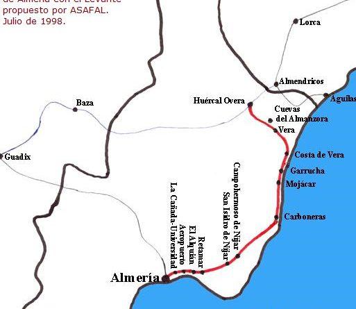 Asafal Presenta A La Opinion Publica Almeriense Su Mapa De